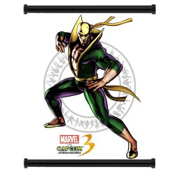 Marvel Vs Capcom 3 Iron Fist Game Fabric Wall Scroll Poster (16X21) Inches
