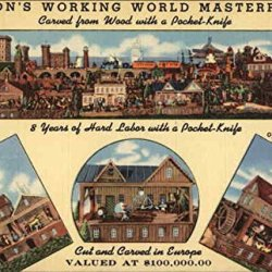 Dillon'S Working World Masterpiece East Liverpool Ohio Original Vintage Postcard