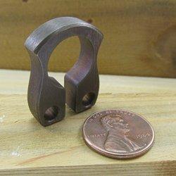 "John Gray Knives - Titanium Mini Keyper Keeper - Tactical Key Chain Ring Bottle Opener - Made In The Usa - Anodized ""Burnt"""