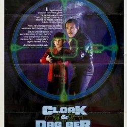 Cloak & Dagger 1984 Original Usa One Sheet Movie Poster Richard Franklin Henry Thomas
