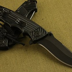 Stainless Steel Saber Folding Knife Survival Camping Hunting Knife Bk-B37