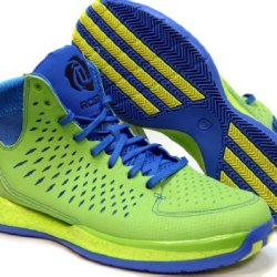 Adidas Derrick D Rose 3 Men'S Basketball Shoes Sneakers Green Size 9
