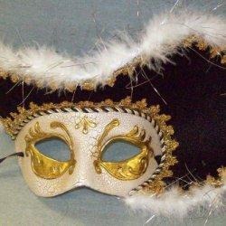 J23796 Venetian Pirate Mask Jacobson
