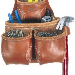 Custom Leathercraft 21426 Nail And Tool Bag, 10-Pocket