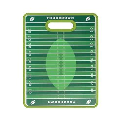 Farberware Non-Slip Football Cutting Board, 11 By 14-Inch