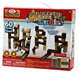 Ideal Amaze N Marbles 60 Piece Classic Wood Construction Set
