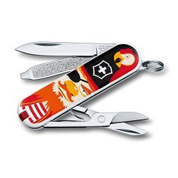 Victorinox Classic Sd Swiss Army Knife, Treasure, 58 Mm, Multi