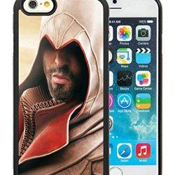 Diy Assassins Creed Desmond Miles Hood Beard Arm Hand Knife Iphone 6 4.7 Inch Black Phone Case
