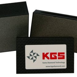 Kgs Diamond Pro-Pad 90X55Mm - 3 Set Bk 120 - Coarse Grit Flexible Electro-Plated Diamond Sponge Blocks