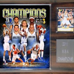 Nba Dallas Mavericks 2010-2011 Champions Plaque