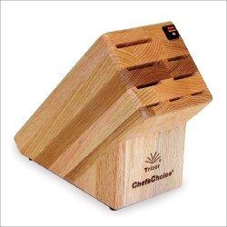 Chefschoice Chefs Choice Trizor Knife Block 9-Slot - Oak, Wood