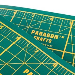 Paragon Crafts Premium, Double Sided Self Healing Cutting Mat For Arts, Crafts And Sewing
