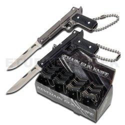 "Pk-2099 3"" Overall Mini Pistol Handle Folding Knife Wvscdks6Ju - 12 Pcs Jjlslsw In Display Ajuiioptr 4567Fffg 567Ybghjk 12 Pcs Counter Top Display Knivesfantasy Folding Knivespop Display3"" Closed Length1.6"" Blade Lengthmini Gxqjz5Q8O Postol Handle With Ke"