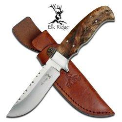 Elk Ridge Er-303 Fixed Blade Knife 8.5-Inch Overall