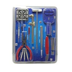16Pc Watch Repair Tool Kit Band Pin Strap Link Remover Back Opener Watchmaker Repair Tools