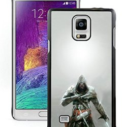 Diy Assassins Creed Knifes Hood Look Fursamsung Galaxy Note 4Black Phone Case