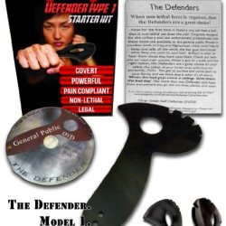The Defender 1 Personal Defense & Safety Tool - Self Defense - Legal Weapon - By Master Peter Brusso - As Seen In Men Who Stare At Goats Movie W/ George Clooney. Now