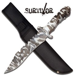 12 In Survivor Combat Knife Hk730Dw - Tactical / Survival Knives