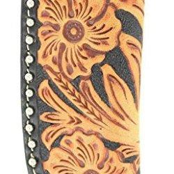 Nocona Men'S Floral Tooled Leather Knife Sheath Multi One Size