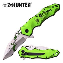 Zombie Hunter Black Zombies Spring Assisted Tactical Folding Knife W/ Pocket Clip (Limited Edition