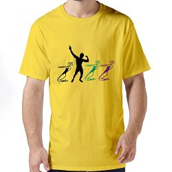 Durable Body Building Mens T-Shirts