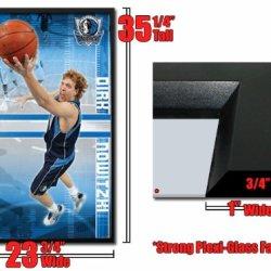 Framed Dirk Nowitzki Poster Dallas Mavericks Fr4802