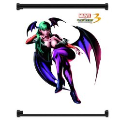 Marvel Vs Capcom 3 Morrigan Game Fabric Wall Scroll Poster (16X21) Inches