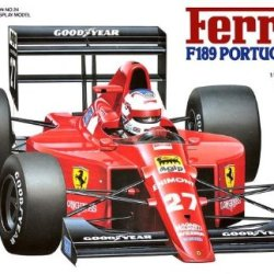 20024 1/20 Ferrari F189 Portuguese G.P.