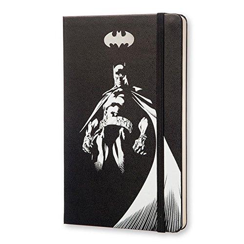 MOLESKINE BATMAN - モレスキン 限定版ノートブック ラージサイズ プレーン(無地)