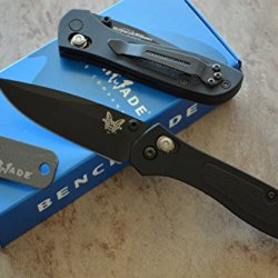 Benchmade 707Bk Sequel Axis Lock Gentleman'S Knife W/ Free Benchmade Mini Sharpener