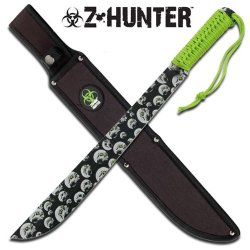"Zb-006 "" Zombie Hunter "" Full Tang 9S9807Mj8H3 Heavu Duty Machete ""18.5"""""" Overall Fix 58Dl89F5518 Knife Steel Sharp Edge Blade Pocket"