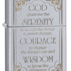 Zippo Serenity Prayer Pocket Lighter