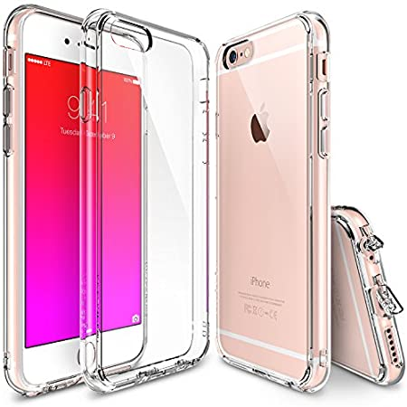 Fits perfectly on the iPhone 6 Plus (2014) / 6S Plus (2015). Crystal Clear Protection Crystal clear PC backing with superior coating and rubberized edge protection for a more solid and comfortable grip. All the color and vibrancy comes alive w...