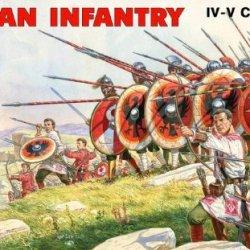 Mini Art Plastics Roman Infantry. Iv-V Century