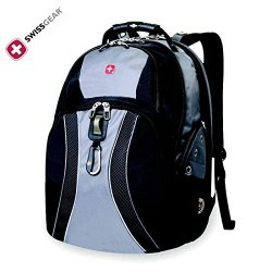 "Swiss Gear Swissgear 17"" Inch Laptop Notebook Mac Book Ipad Outdoor Scansmart Backpack - Premium High Quality - Gray"