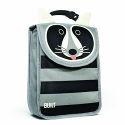 Built Big Apple Buddies Insulated Lunch Sack, Rivington Raccoon