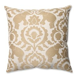 "16.5"" Babar Elegance Golden Sands Decorative Throw Pillow"