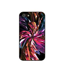 Dh-Hoping (Tm) Cell Phone Case For Personalizatied Custom Picture Iphone 5C High Impackt Combo Soft Silicon Rubber Hybrid Hard Pc & Metal Aluminum Protective Case With Customizatied Paint Retro Style Splash-Ink Luxurious Pattern (Dye-05)