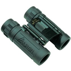Alpen 8X21 Green Rubber Armored Sport Compact Binoculars