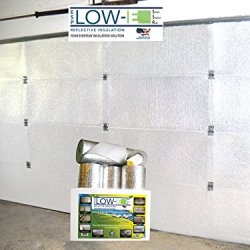 Esp Low-E® Ssr Two Car Garage Door(16'X7') Insulation Kit (White Interior Finish):Includes Esp Low-E® Reflective Foam Core Insulation (120 Sq Ft), Razor Knife, Squeegee, Double Adhesive Tape. 25 Years Products And Service From The Creators Of Low-E