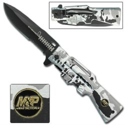 M & P Ar-15 Gun Spring Assisted Knife