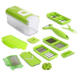 Generic New Nicer Dicer Plus Fruit&Vegetable Chopper Ool Kitchen Tool 12 In 1