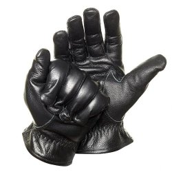 Defender Leather Kevlar Gloves Cut Resistant (Size M) The-Security-Store