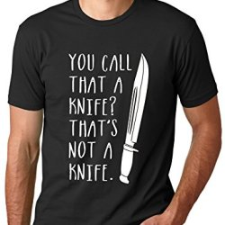 That'S Not A Knife T Shirt Funny Tv Shirt Crocodile Tee Xl