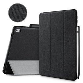 iPad-Pro-129-Case-iVAPO-Brief-Business-Style-Premium-PU-Slim-Fit-Flip-Folio-Case-with-Apple-Pencil-Holder-Stand-Feature-Auto-SleepWake-Smart-Fabric-Cover-for-iPad-pro-129-inch-Black-MM627
