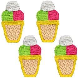 Ice Cream Cone Pinata, Buy 2 Get 2 Free Wholesale Pricing