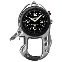 Dakota Watch Company Zip Clip (Silver With Black)