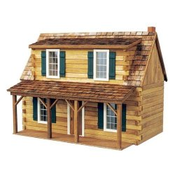 Real Good Toys Adirondack Cabin Kit - 1 Inch Scal