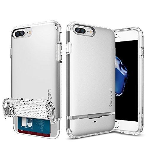 iPhone-7-Plus-Case-Spigen-Flip-Armor-Card-Holder-Satin-Silver-Slim-Fit-Dual-Layer-Protective-Wallet-Case-for-Apple-iPhone-7-Plus-043CS20822