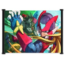 "Mega Man Zero Collection Game Fabric Wall Scroll Poster (28""X16"") Inches"